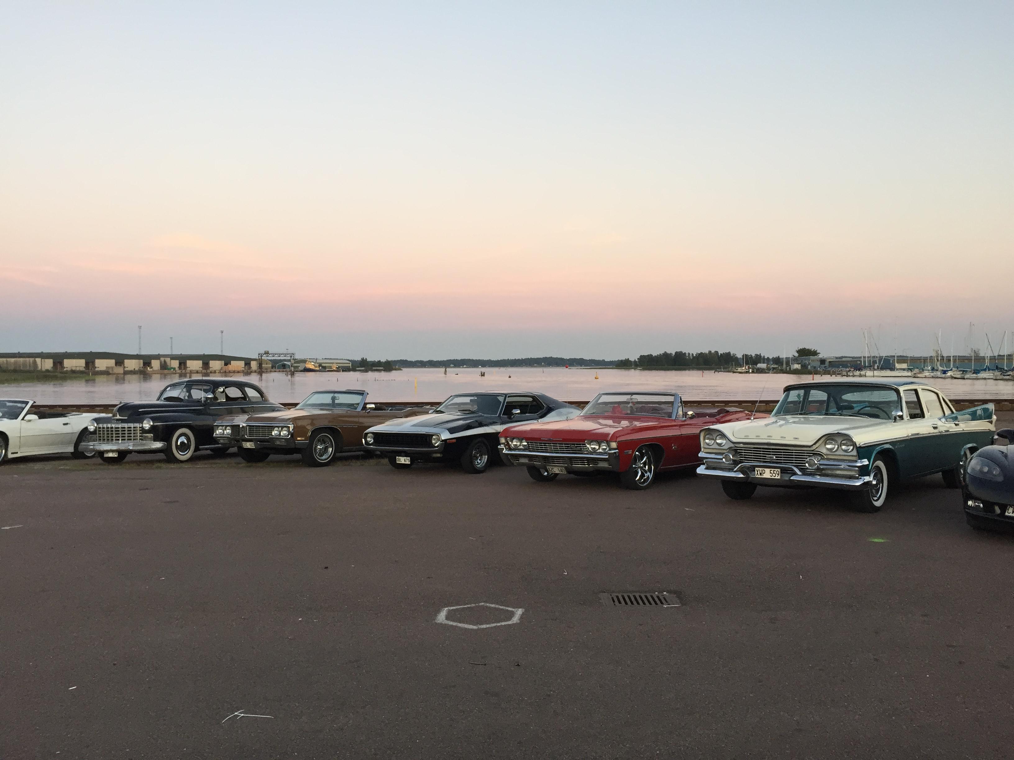 Förtrollad cruisinkväll i Karlstad 2015
