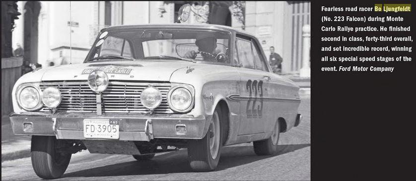 Tidningsklipp Bosse Ljungfeldt 1963